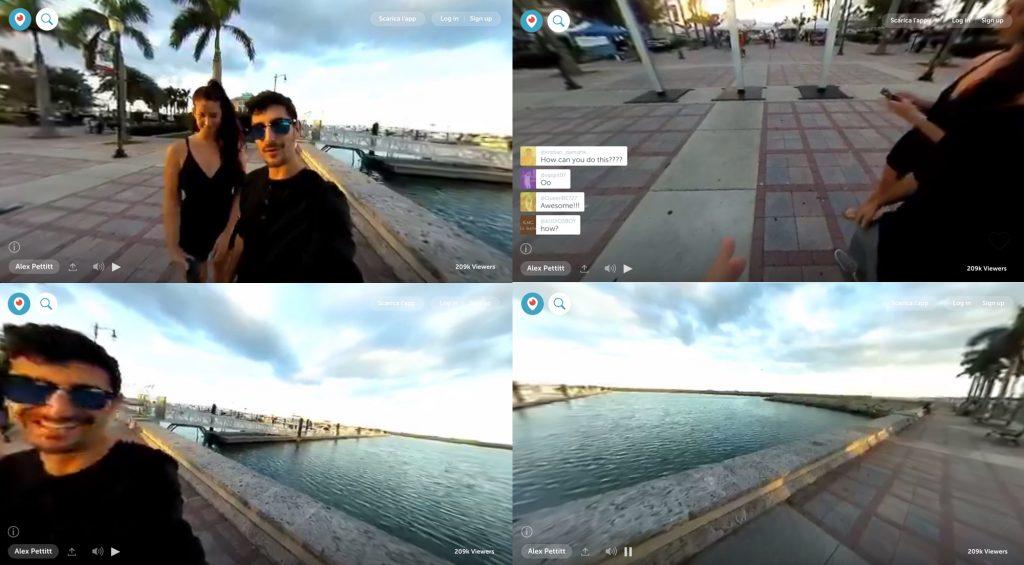 Video a 360 gradi Periscope Twitter