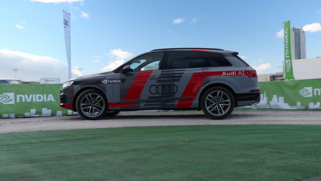 Nvidia e Audi, insieme per costruire l'auto ad intelligenza artificiale