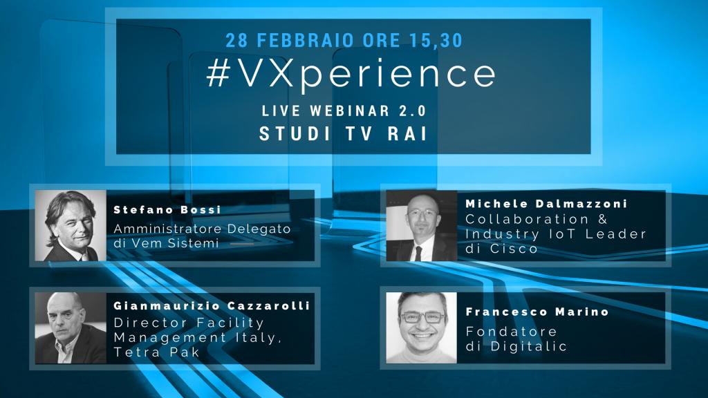 RELATORIGIUSTI #VXperience