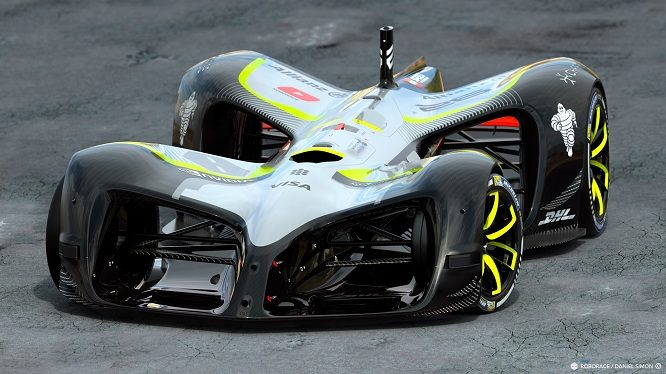 Roborace presenta Robocar, l'auto da corsa a guida autonoma