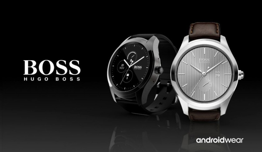 hugo boss smartwatch movado Android Wear 2.0