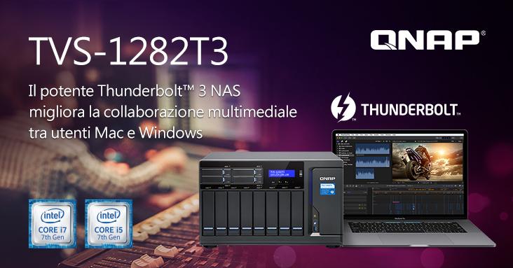QNAP NAS Thunderbolt 3 TVS-1282T3