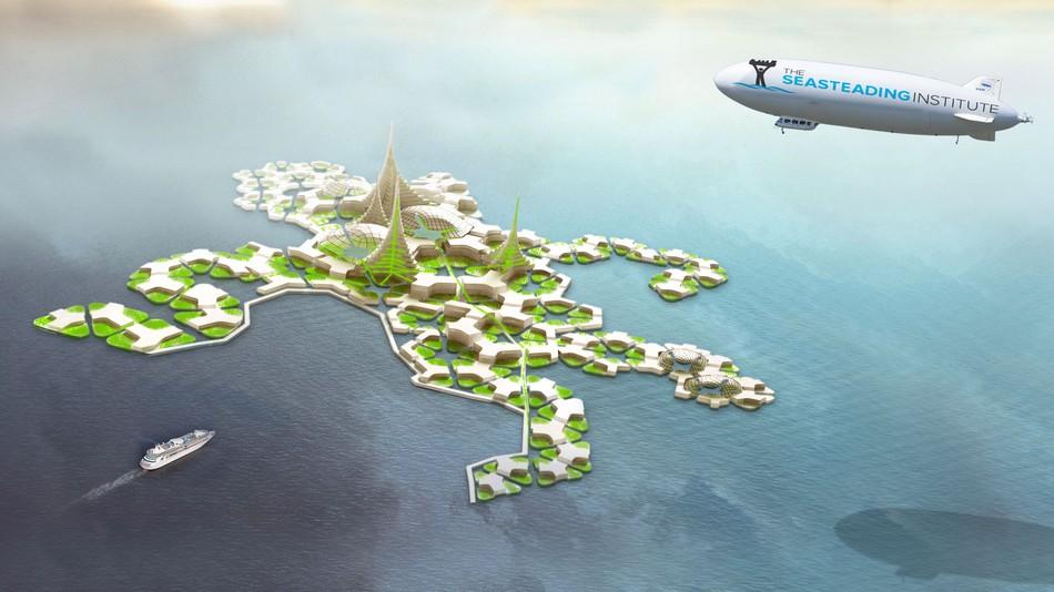 Una città tecno-libertaria fluttuante potrebbe sorgere nel Pacifico
