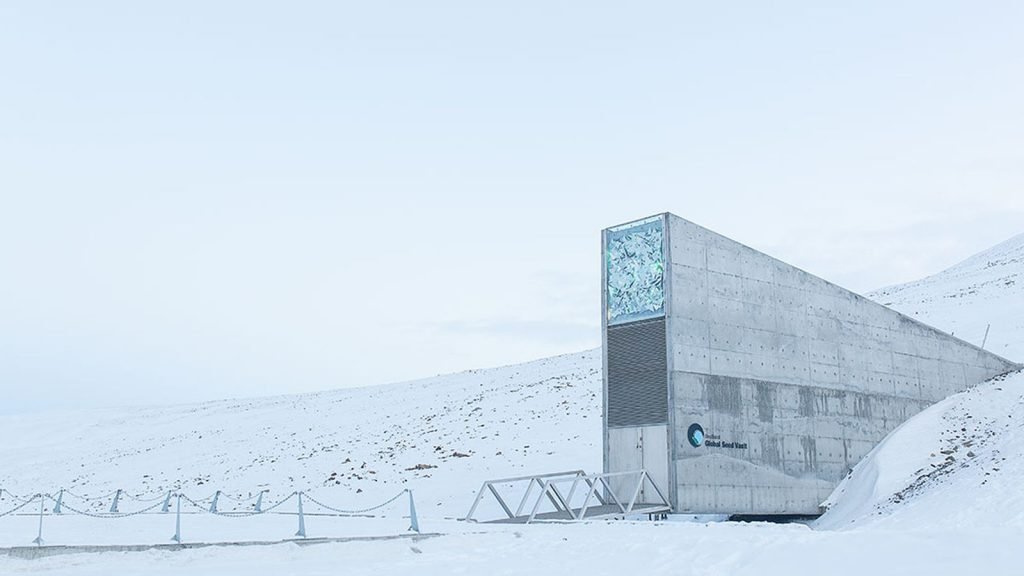 Arctic World Archive Svalbard