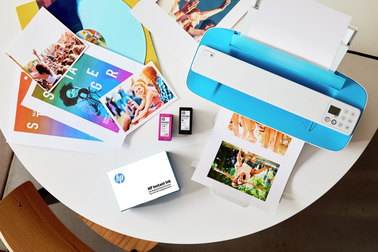 Mai più senza inchiostro con HP Instant Ink