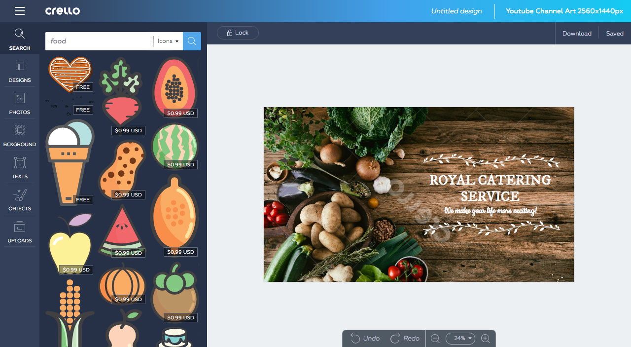 Crello: l'editor di Depositphotos per creare grafiche professionali