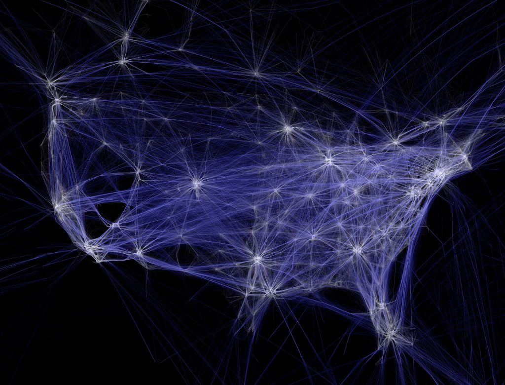Flight Patterns Big Data
