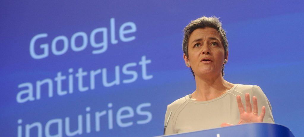 Margrethe Vestager adsense Google multata da Europa 1 miliardo