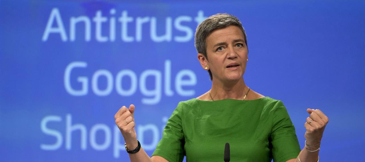 Google Multa Margrethe Vestager ricorso