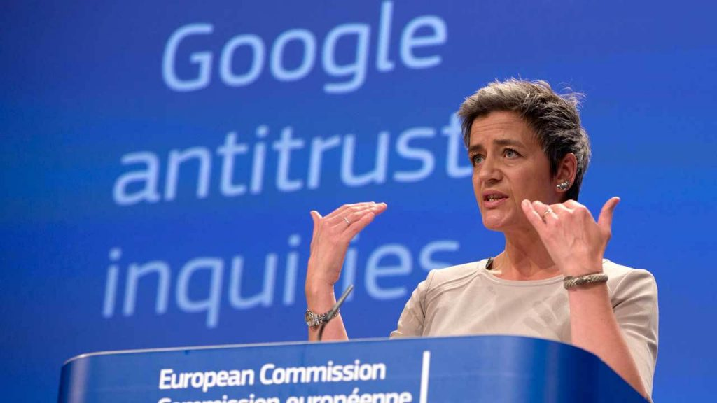 Google multata da Europa 1 miliardo