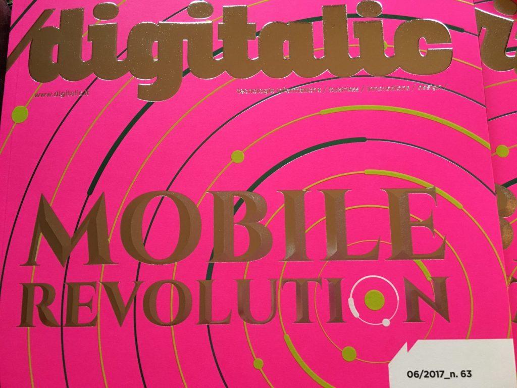 Digitalic n. 63 Mobile Revolution copertina