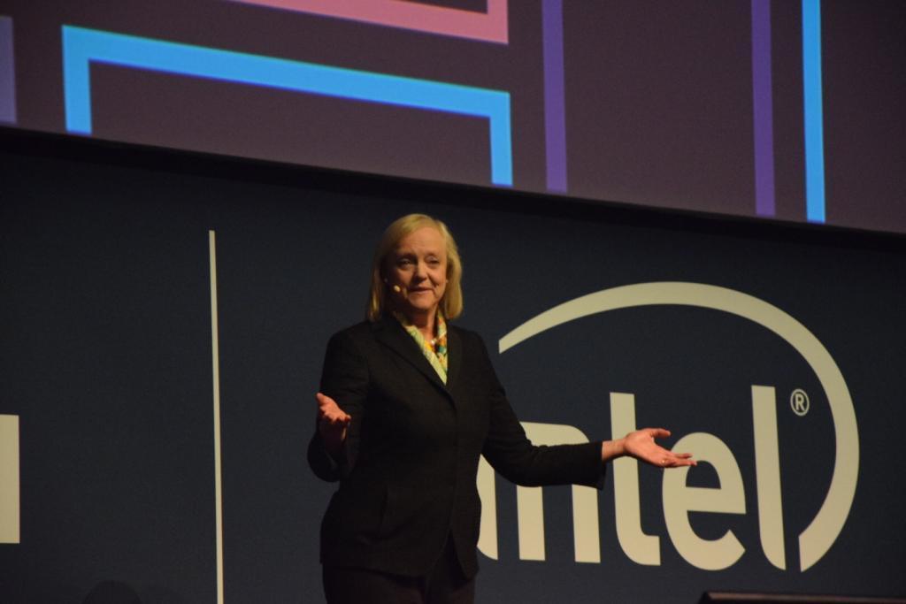 Meg Whitman HPE Italian Summit