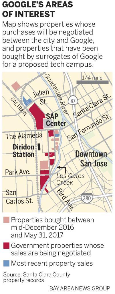 Città di Google San Jose Terreni