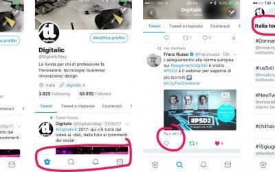 Nuovo design Twitter: tutte le novità su come cambia il social network