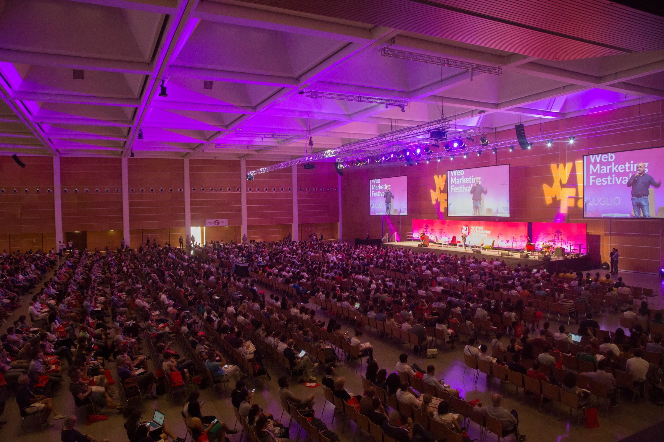 Web Marketing Festival: l'agorà digitale dei nostri giorni