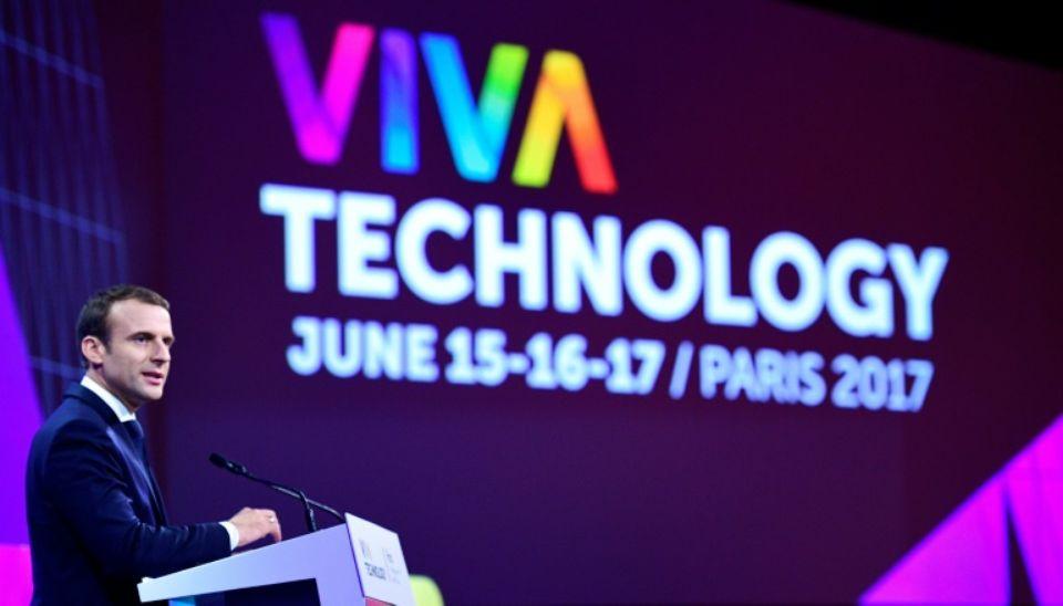 Viva Technology Emmanuel Macron
