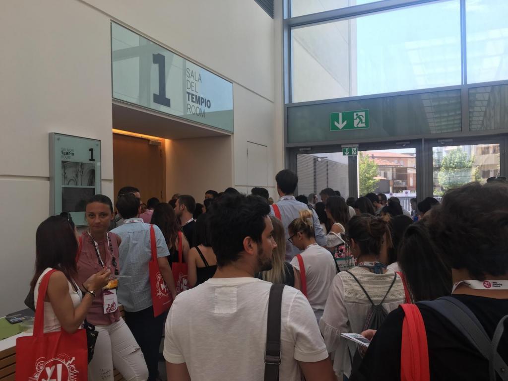 Web Marketing Festival: felici in coda