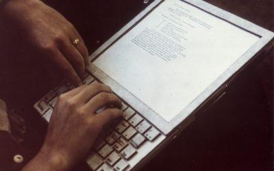 Il primo notebook: nato per imitare la carta, Dynabook