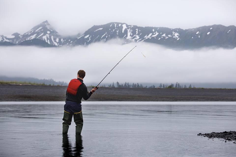 Mark Zuckerberg durante il suo viaggio in Alaska