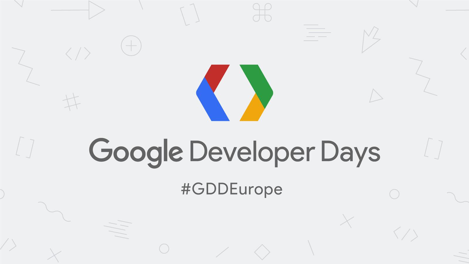 I Google Developer Days arrivano in Europa: a Cracovia il 5-6 settembre