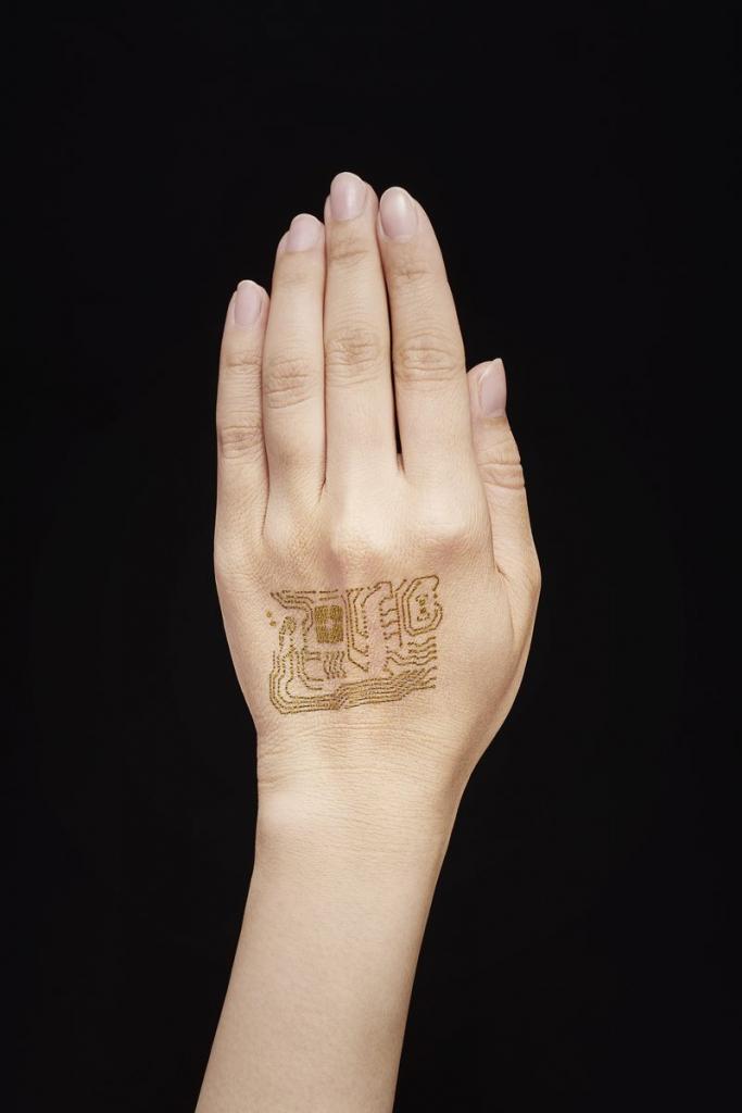 seconda pelle wearable