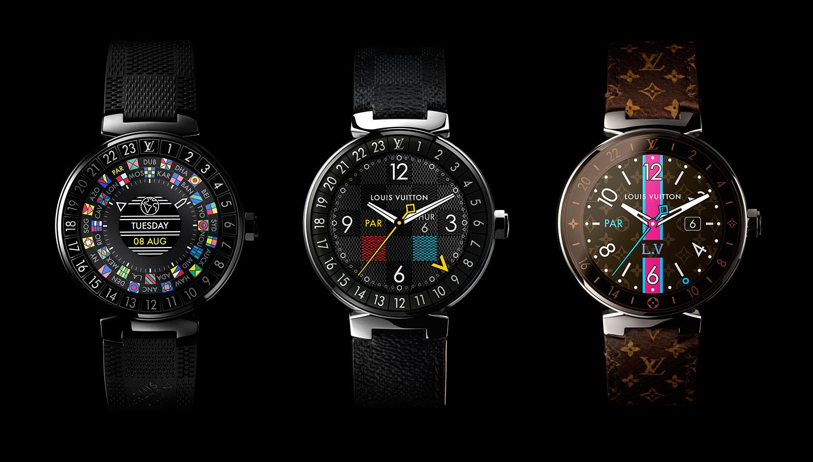 Tambour Horizon il primo smartwatch Louis Vuitton, a $ 3.000