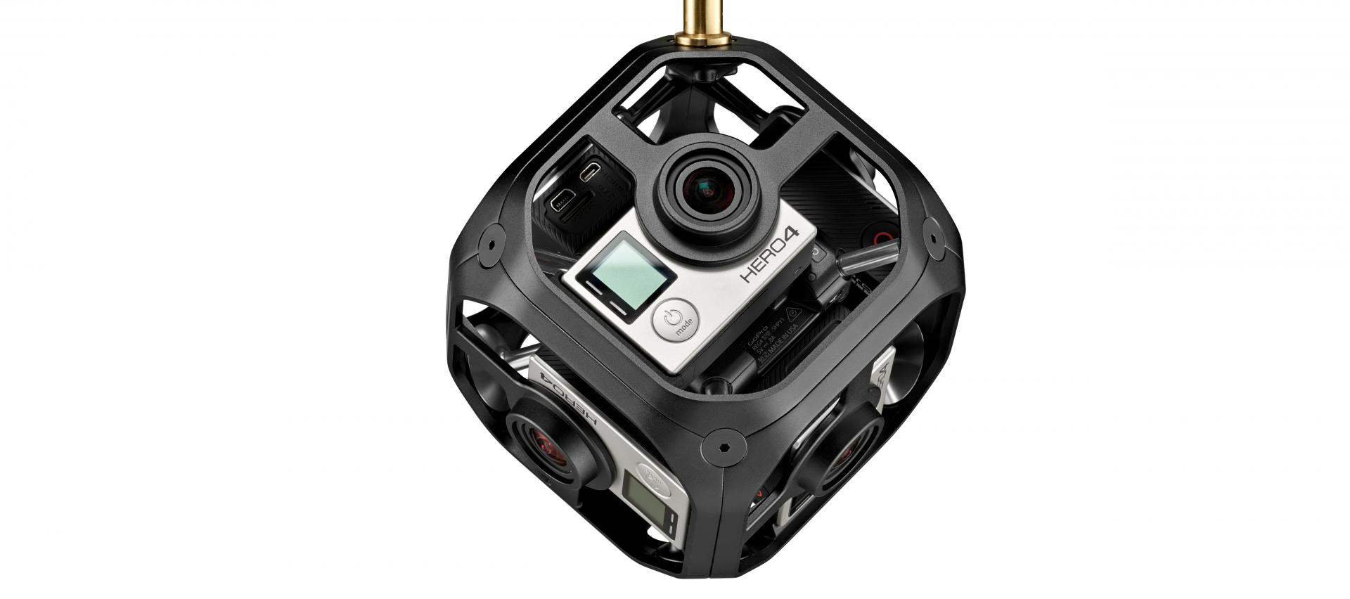 Manfrotto VR: i supporti per girare video a 360°