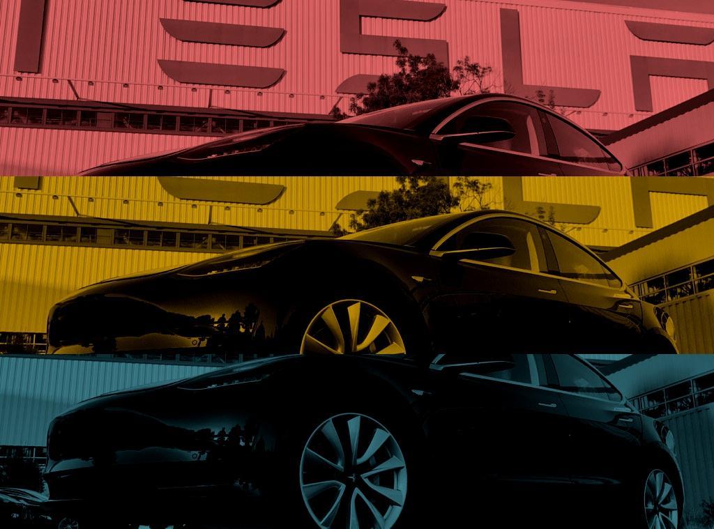 Tesla Model 3 Primo esemplare