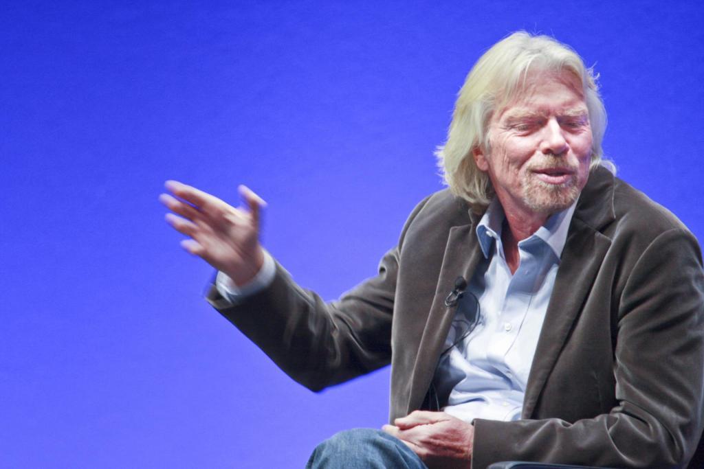 colloquio di lavoro Richard Branson