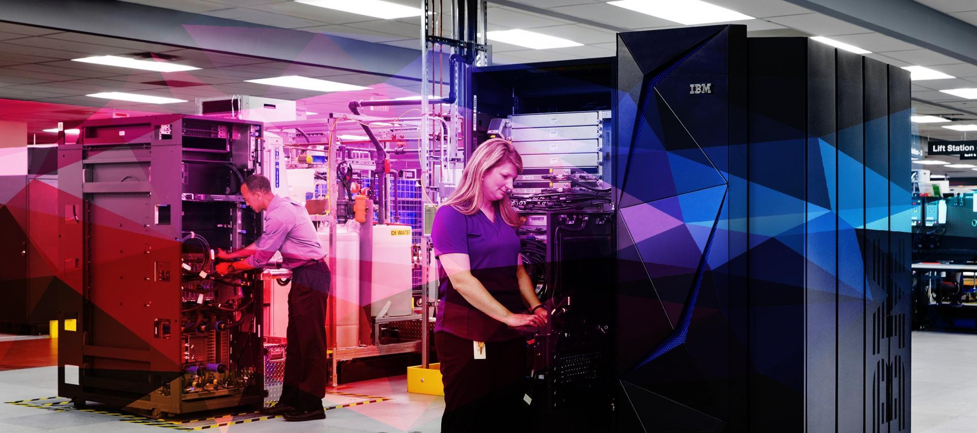 Nuovo IBM Z: il mainframe che crittografa ogni cosa