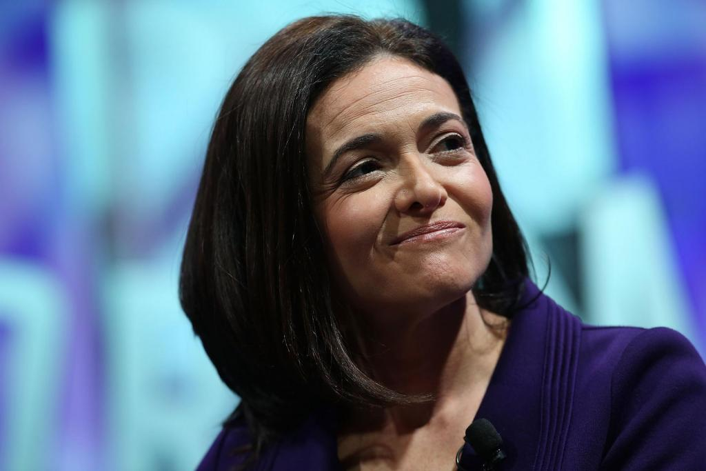 donne più potenti tecnologia 2017 Sheryl Sandberg