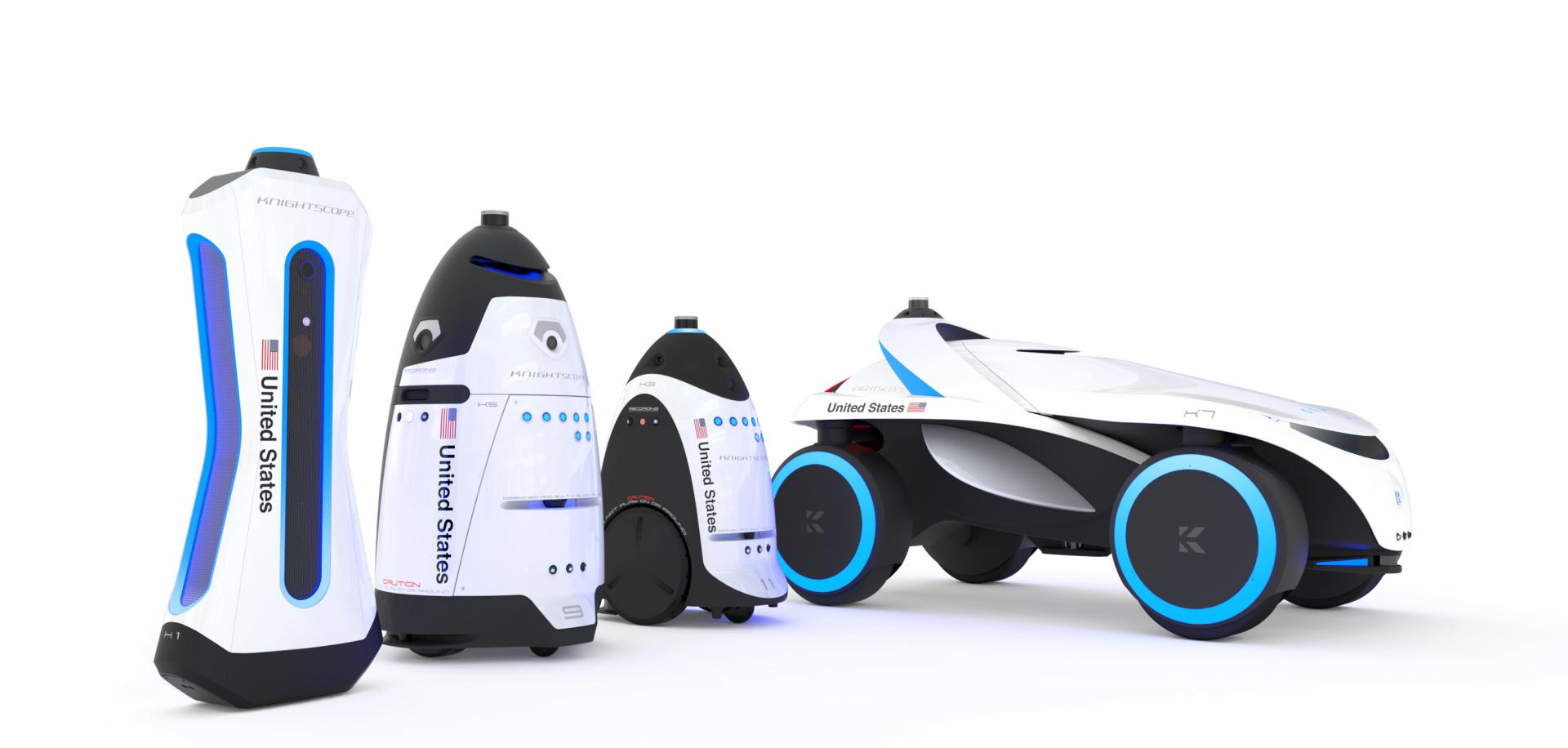 Knightscope K1, il nuovo robot poliziotto che individua armi e radiazioni