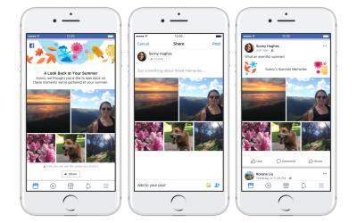Facebook annuncia due nuovi modi per condividere i ricordi