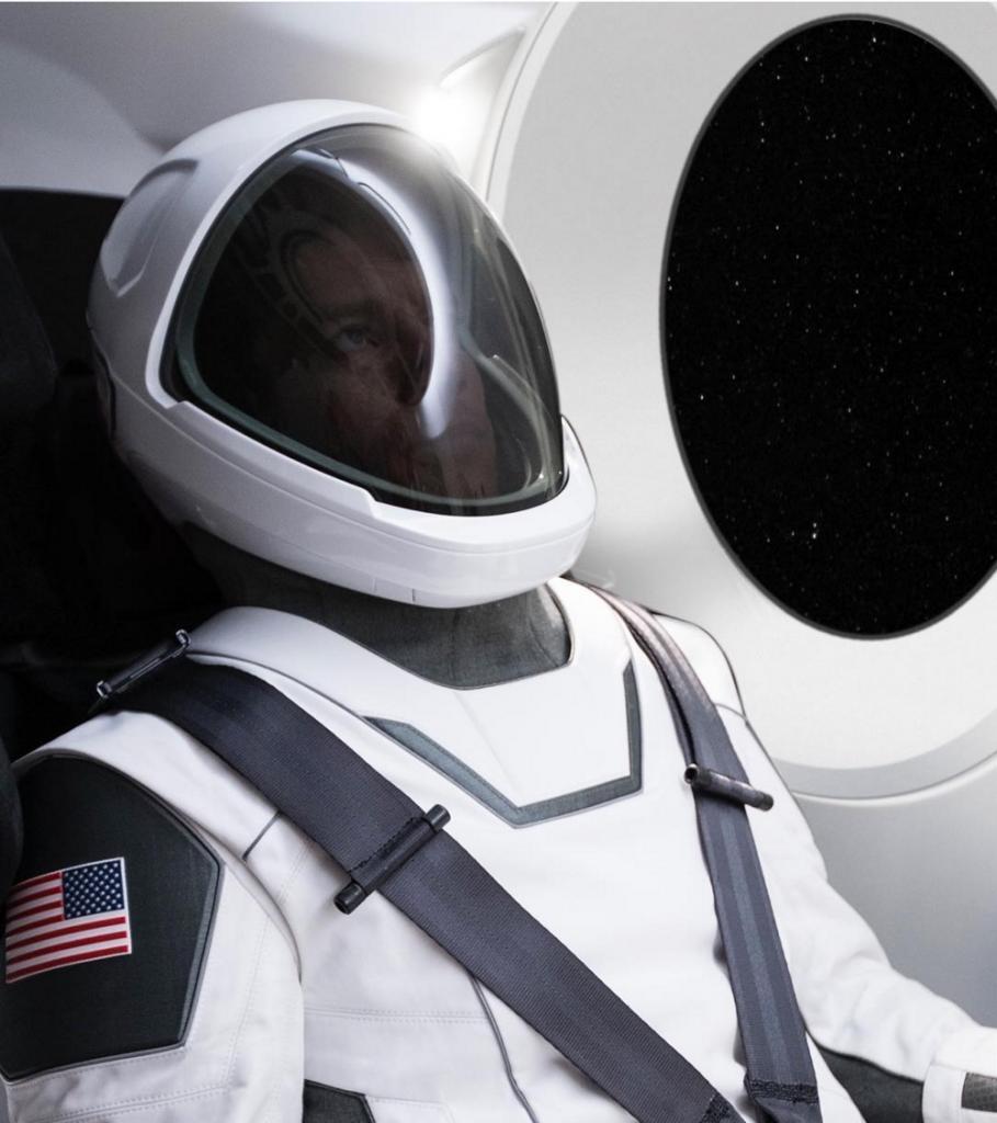 Elon Musk Tuta spaziale di SpaceX
