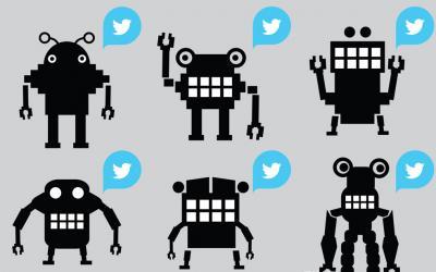 Twitter: gli account dei vip si comportano come bot