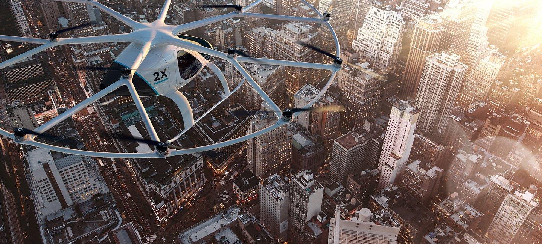 Volocopter : Daimler finanzia per $30 milioni il taxi drone
