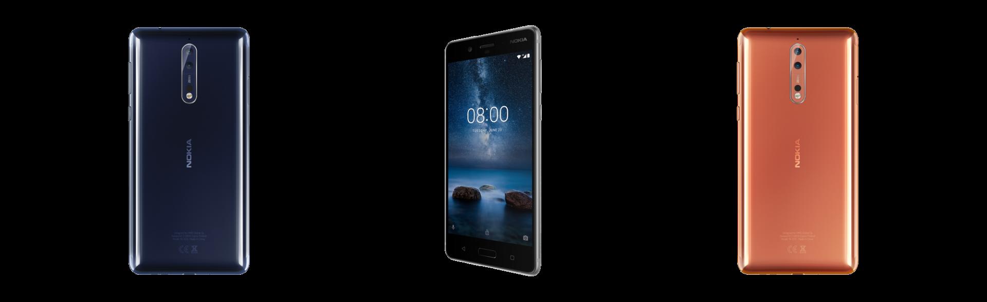 Nokia 8 è ufficiale: arriva il top di gamma per riconquistare tutti