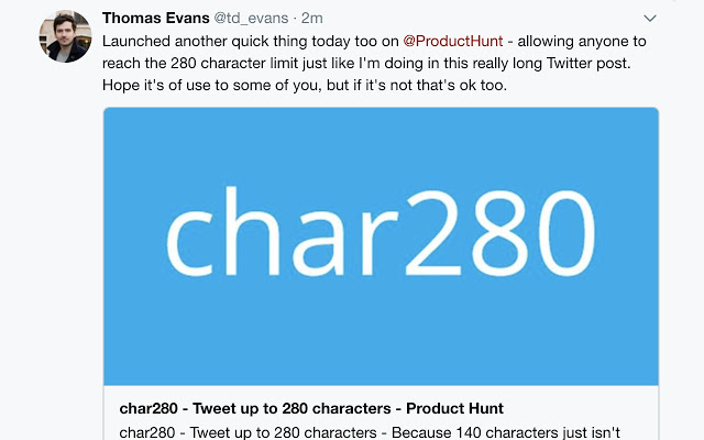 280 caratteri twitter
