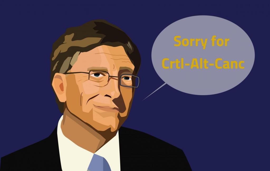 Ctrl-Alt-Canc, Bill Gates Chiede scusa per la combinazione scomoda di tasti