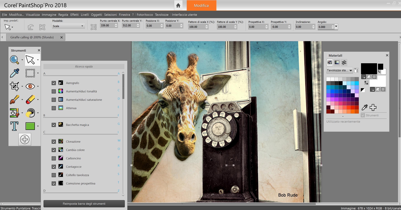 Fotoritocco: Corel lancia PaintShop Pro 2018
