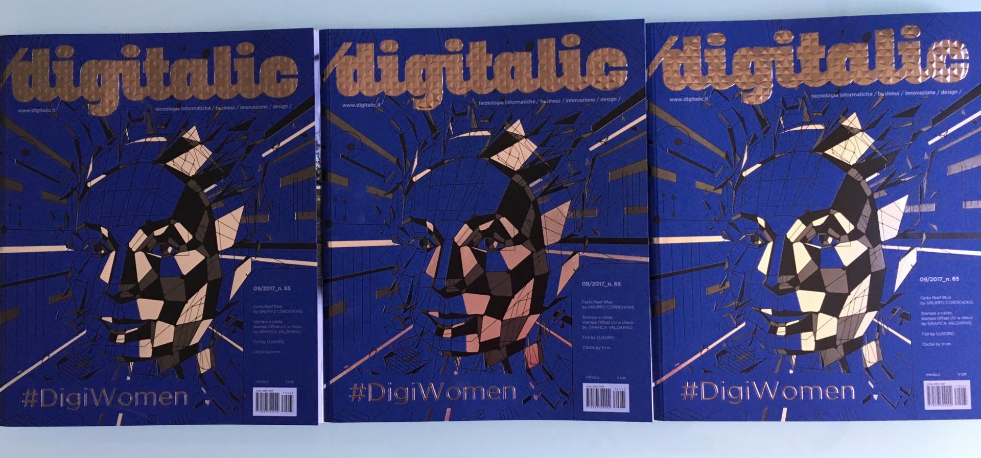 Digitalic n. 65 – DigiWomen 2017  / Autoritratto di Signora