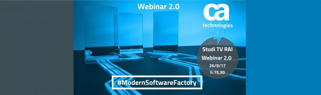 Webinar 2.0 #ModernSoftwareFactory