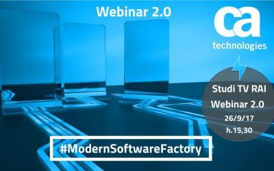 Webinar 2.0 ModernSoftwareFactory: metti il Software al centro del business – 26/9/17