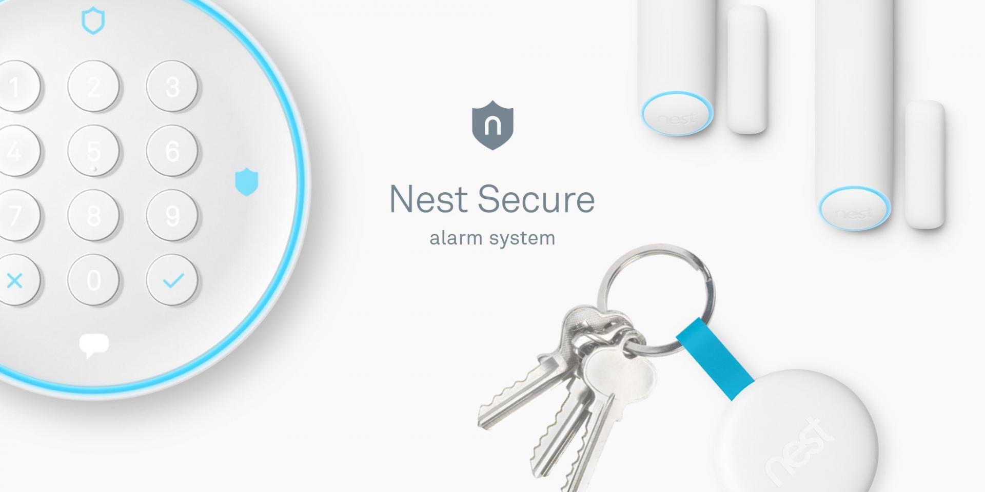 Nest Secure il sistema di allarme smart per la casa