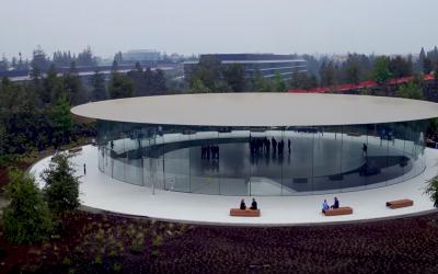 Ecco com'è lo Steve Jobs Theater nel nuovo Apple Campus