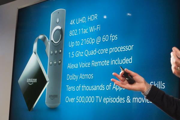 Amazon Fire TV Annunci Amazon Seattle 2017