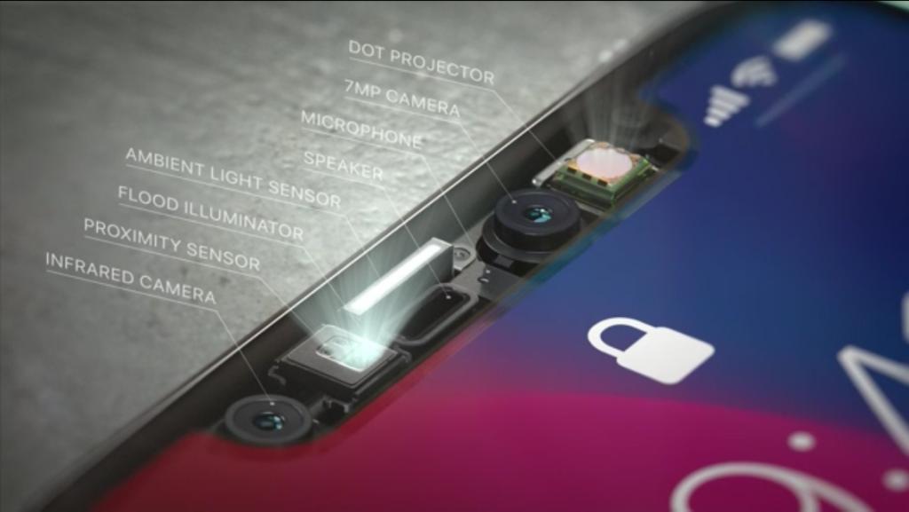 iPhone X: i sensori