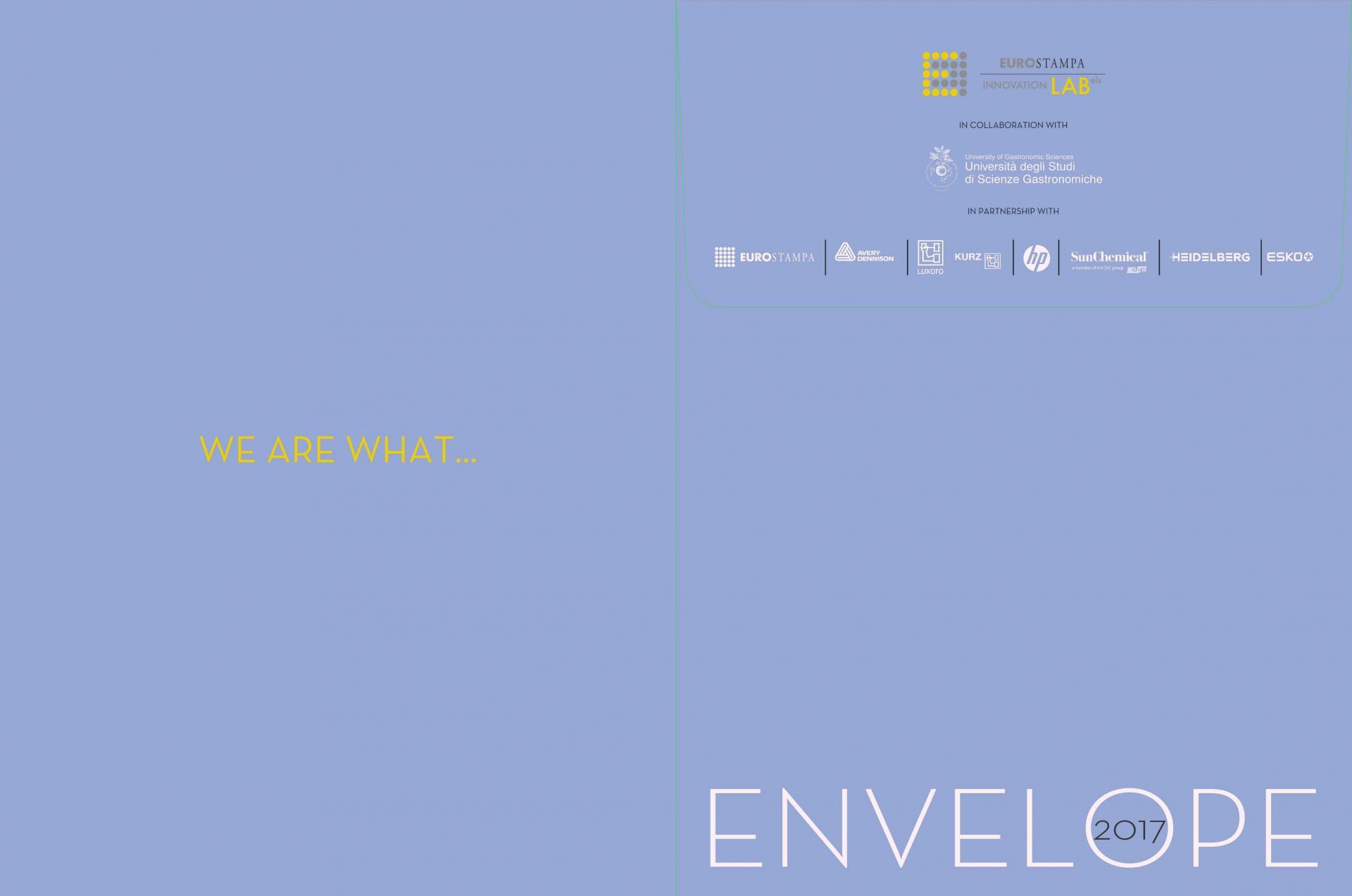 Progetto Envelope l'innovazione al servizio della creatività nel label packging
