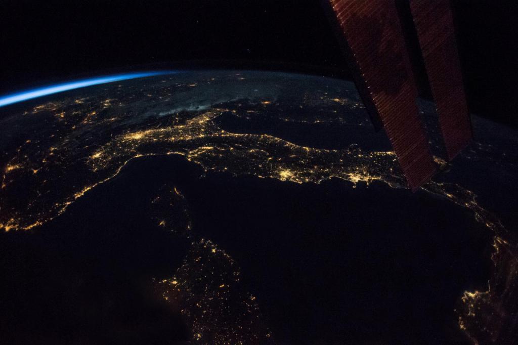 L'Italia fotografata da Paolo Nespoli