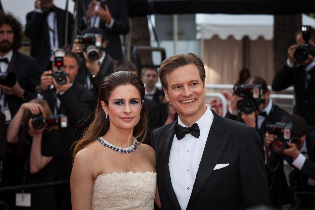 30wears Livia Firth col marito Colin Firth